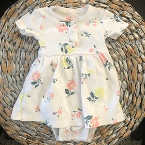 Carters floral dress for Newborn